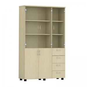 Tủ gỗ văn phòng Hòa Phát AT1960-3G4D